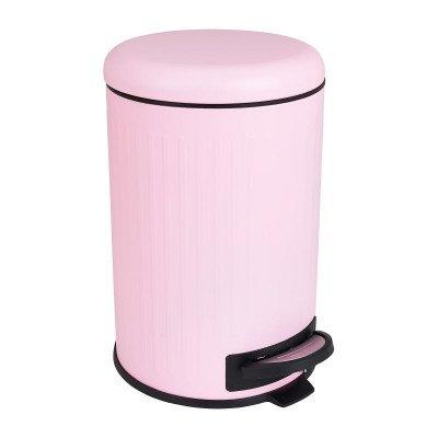 Xenos Pedaalemmer retro - roze - 12 liter