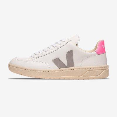 """Veja Women's V-12 Leather """"Extra White"""""""