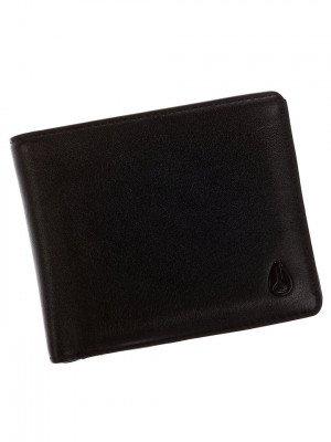 Nixon Nixon Satellite Big Bill ID Coin Wallet zwart