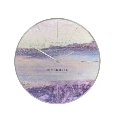 Riverdale NL Wandklok Brixton metallic 30cm