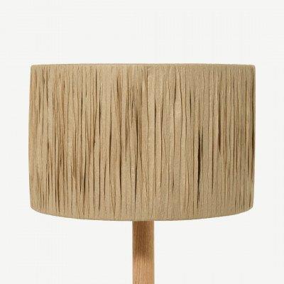 MADE.COM Cruz lampenkap, 25 cm, raffia