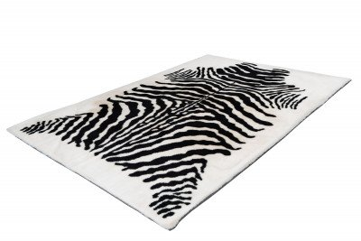 Kayoom Kayoom Vloerkleed 'Rabbit Animal' kleur zwart / wit, 160 x 230cm