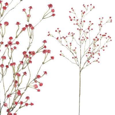 Firawonen.nl Garden flower red baby's breath spray