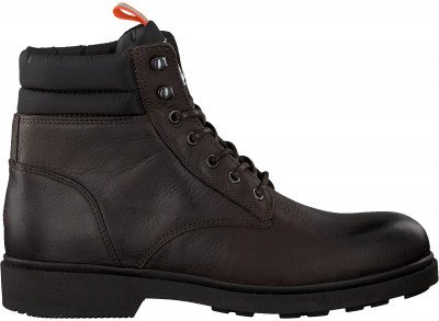 Tommy Hilfiger Bruine Tommy Hilfiger Veterboots Casual Boot