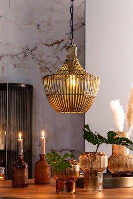 Light en Living Light & Living Hanglamp 'Stella' kleur Antiek Brons, Ø38cm
