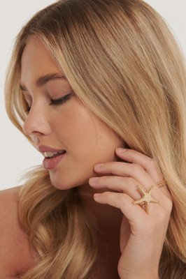 NA-KD Accessories Ringen In 2-Pack - Gold