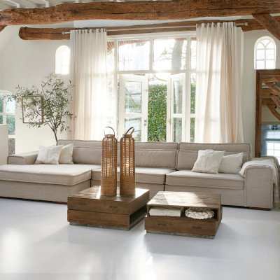 Rivièra Maison Rivièra Maison Salontafel 'Detraut' 90 x 90cm