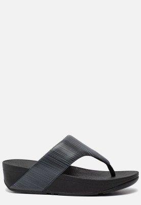 FitFlop FitFlop Olive Textured Glitz slippers zwart