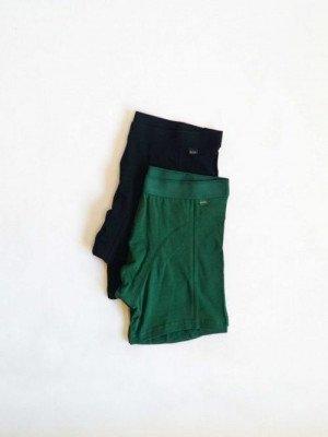 Moja Boxer 2-pack XL Black / Green