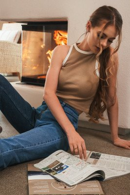 Lisa-Marie Schiffner x NA-KD Lisa-Marie Schiffner x NA-KD Organisch Top - Beige