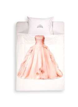 Snurk Snurk Princess katoen perkal kinderdekbedovertrekset 160TC - inclusief kussenslopen
