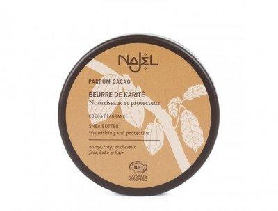 Najel Biologische SheaButter met cacao - 100GR Najel