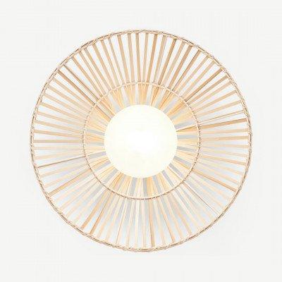 MADE.COM Weaver wandlamp, bamboe