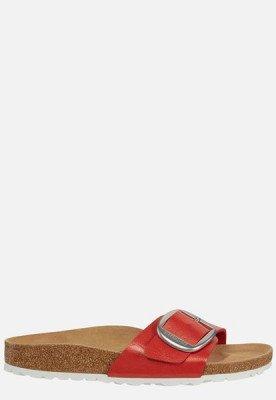 Birkenstock Birkenstock Madrid Buckle slippers rood