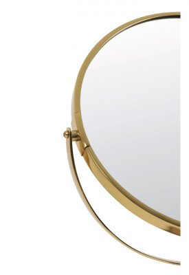 Light & Living Light & Living Spiegel 'Riesco' op voet, marmer grijs-ant brons