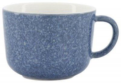 HEMA Cappuccinomok Chicago 330 Ml - Reactief Glazuur - Blauw (Blue)