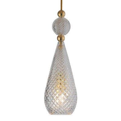 Ebb en Flow EBB & FLOW Smykke hanglamp goud, kristal
