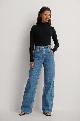 Matiamu By Sofia x NA-KD Matiamu By Sofia x NA-KD Organisch Jeans - Blue
