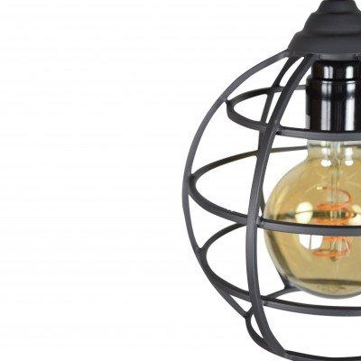 Urban Interiors Urban Interiors hanglamp 3-lichts, kleur Vintage Black