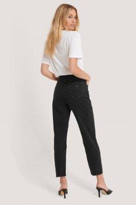 Abrand Abrand Hoge Slim Jeans - Black