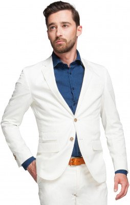 Suitable Suitable Blazer Algodao Off White