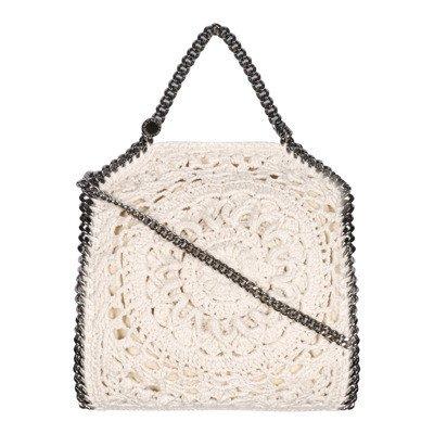 Stella Mccartney Crochet Mini Tote Falabella