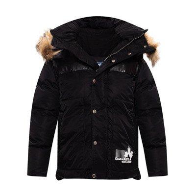 Dsquared2 Gewatteerde jas met hoodie