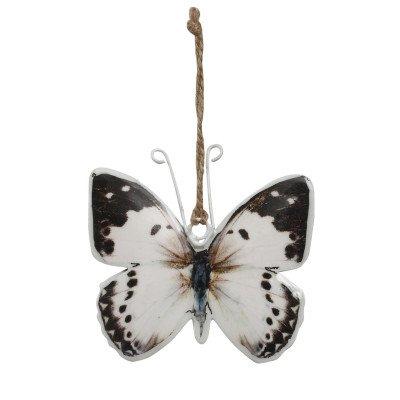 Firawonen.nl Wenxi iron blue butterfly hanging s