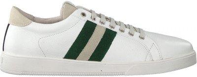 Blackstone Witte Blackstone Lage Sneakers Tg30