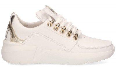 Nubikk Nubikk Roque Royal Wit/Goud Damessneakers