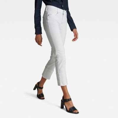 G-Star RAW Noxer Straight Jeans - Wit - Dames