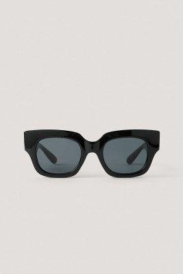 Mango MANGO Zonnebril Met Vierkant Frame - Black