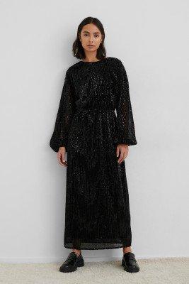 NA-KD Party NA-KD Party Open Back Sequin Dress - Black