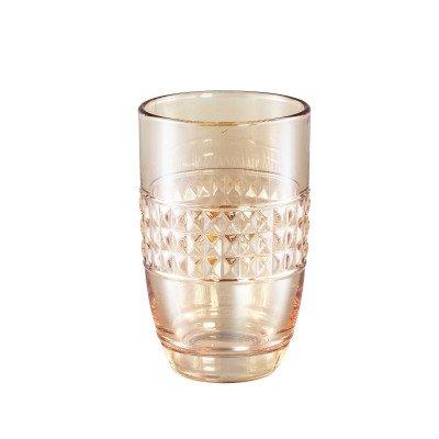Firawonen.nl Ptmd hadley glas goud diamont drink glas