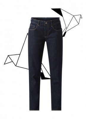 G-Star Raw G-Star RAW Kate mid waist straight fit cropped jeans
