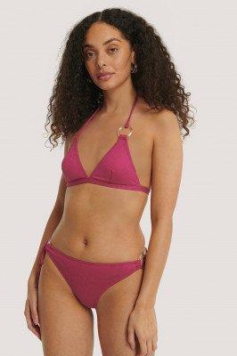 Trendyol Trendyol Bikinibroekje Met Ringdetail - Pink