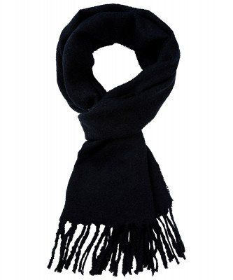 Profuomo Profuomo heren navy wol blend sjaal