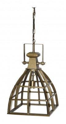 PTMD PTMD Hanglamp 'Rowdy', Metaal, 64 x 35 cm, kleur Goud