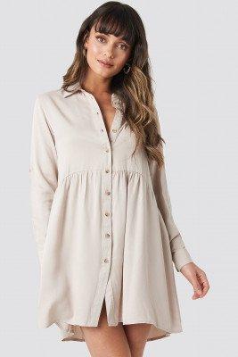 Trendyol Trendyol Yol Shirt Dress - Beige