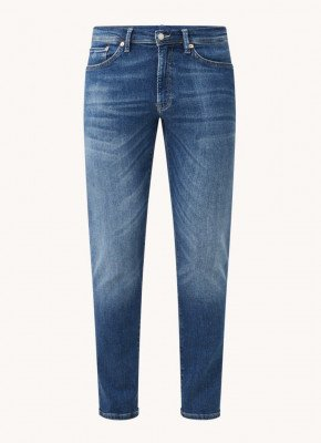 Gant Gant Slim fit jeans met medium wassing en stretch