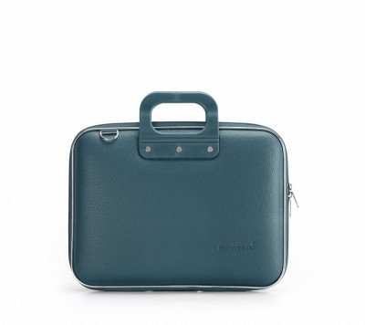 Bombata Bombata Medio Hardcase Laptoptas 13 inch Teal Blue