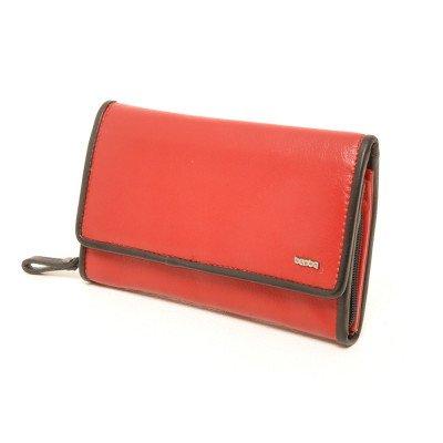 Berba Berba Dames Portemonnee Soft 001-203 Red Black