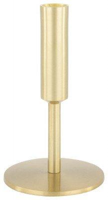 HEMA HEMA Kandelaar Ø9.5x16 - Metaal Goudkleurig (goud)
