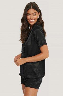 Trendyol Trendyol Pyjamaset Met Losse Pasvorm - Black