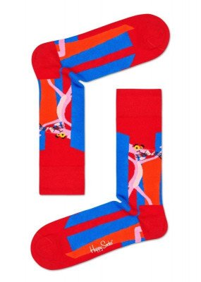 Happy Socks Happy Socks Pink Panther Smile Pretty, Say Pink PAN01-4300 Damessokken