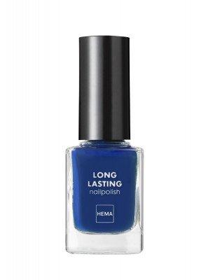 HEMA Longlasting Nagellak (donkerblauw)