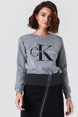 Calvin Klein Calvin Klein Crew Neck True Icon Sweatshirt - Grey
