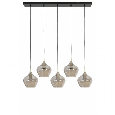 Woonexpress Hanglamp Rakel Zwart