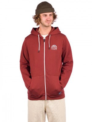 Picture Picture Hamelton Zip Hoodie rood