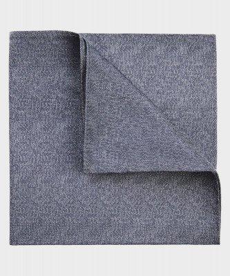 Michaelis Michaelis heren zijden pochet grijs